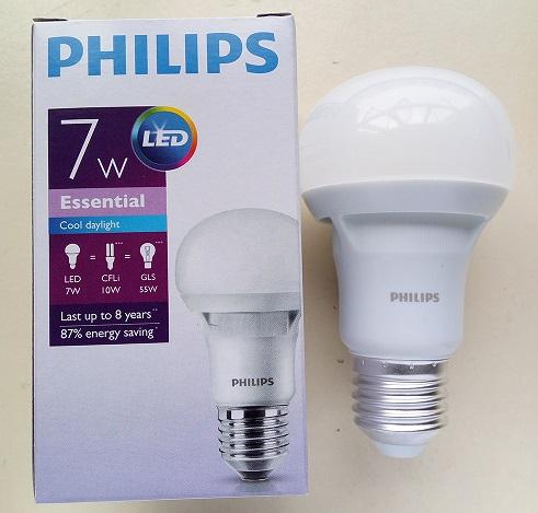 đèn LED bulb 7W Essential Philips