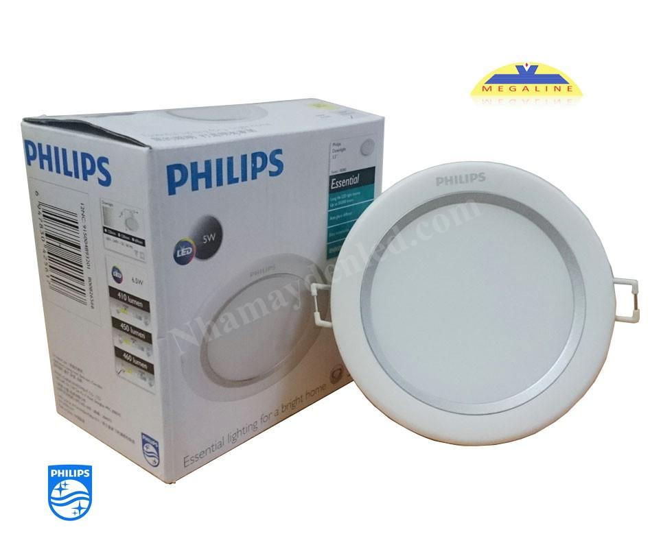 Đèn LED âm trần chiếu điểm 80082 Silver philips