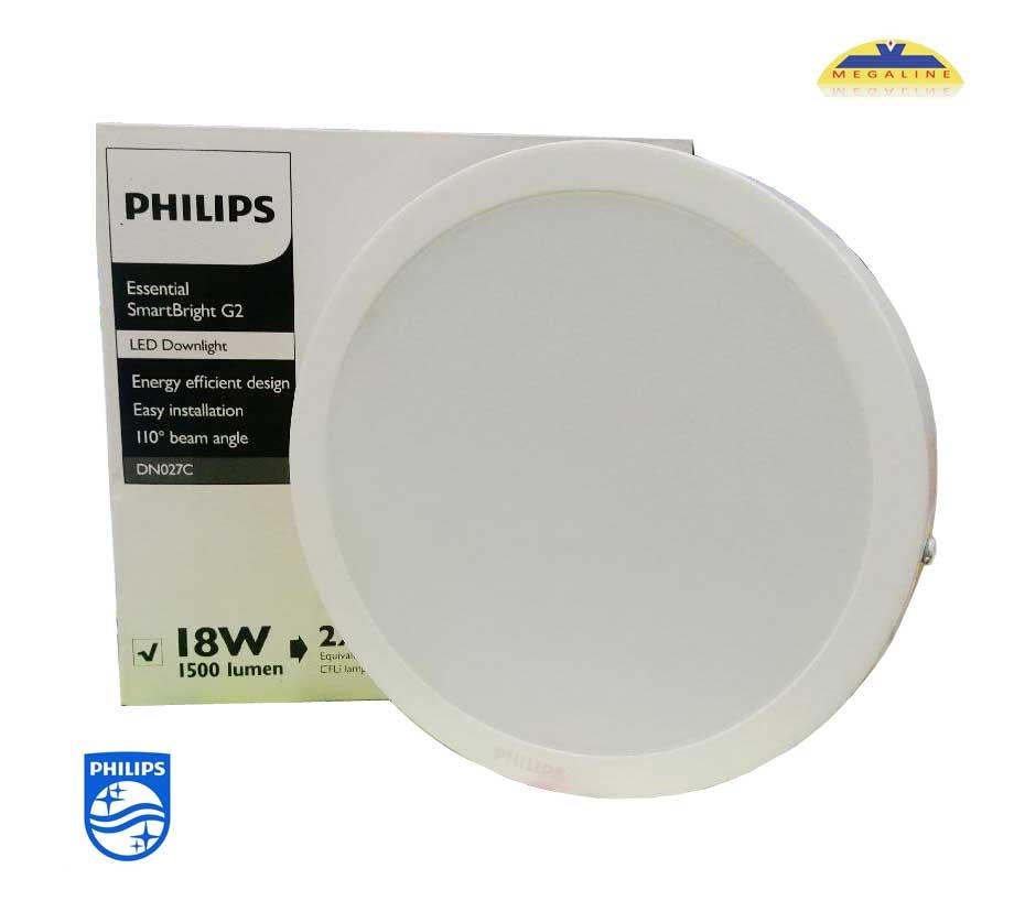 đèn âm trần DN027C 15w philips
