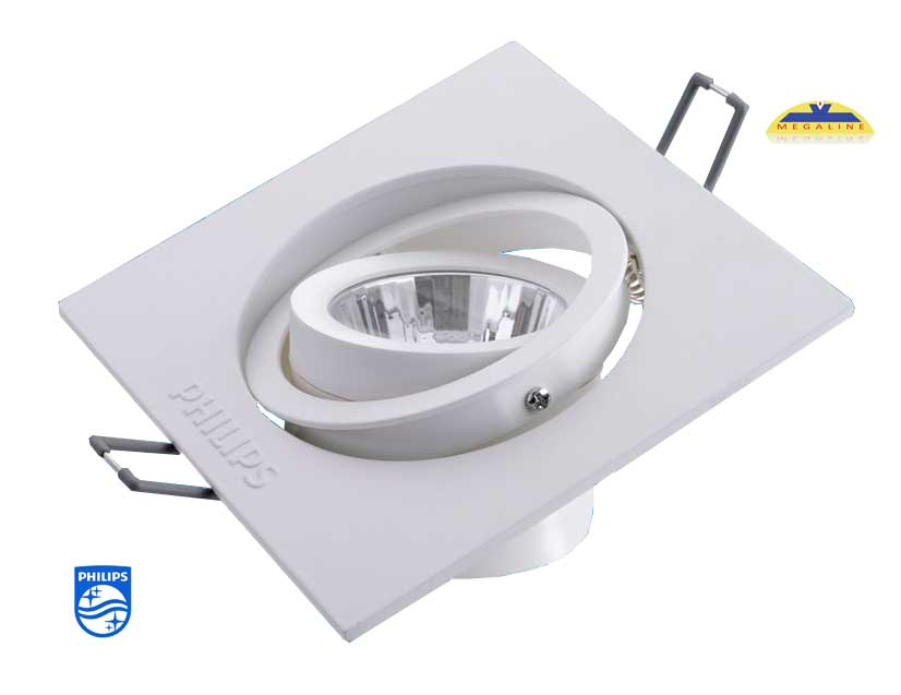Bộ đèn âm trần GD022B 1 bóng