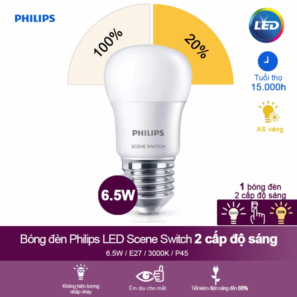 đèn Scene Switch 2S 6.5-60W Philips