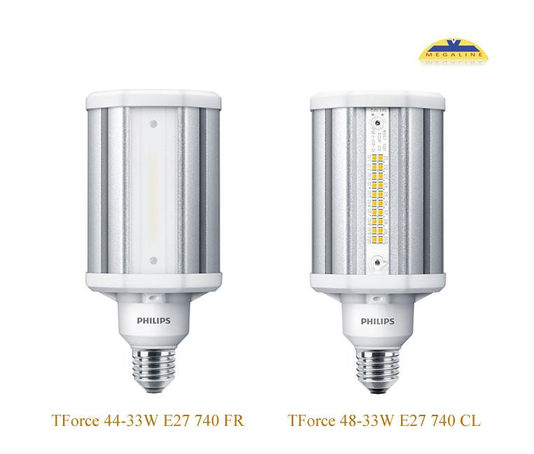 Đèn nhà xưởng TForce LED HPL ND 33W E27 740 CL FR Philips
