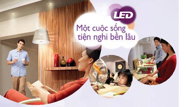 Ứng dụng đèn led Philips