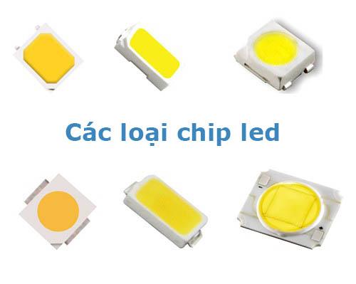 Các loại chip led phổ biến trong các mẫu đèn led