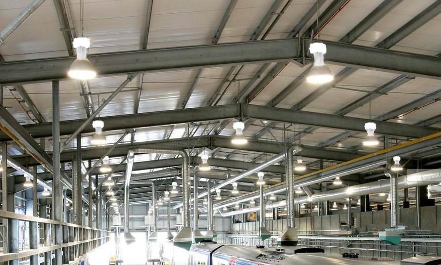Ưu điểm đèn led nhà xưởng