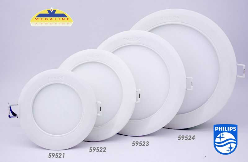 den downlight led marcasite philips 59521 59522 59523 59524(1)