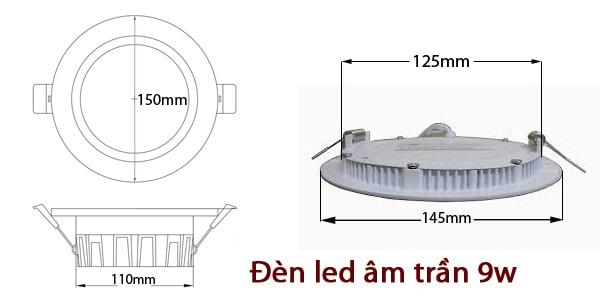 Những lý do bạn nên sử dụng đèn led downlight 9W cho gia đình mình