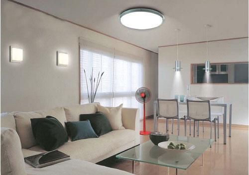 Lựa chọn kích thước đèn led ốp trần Philips cho không gian