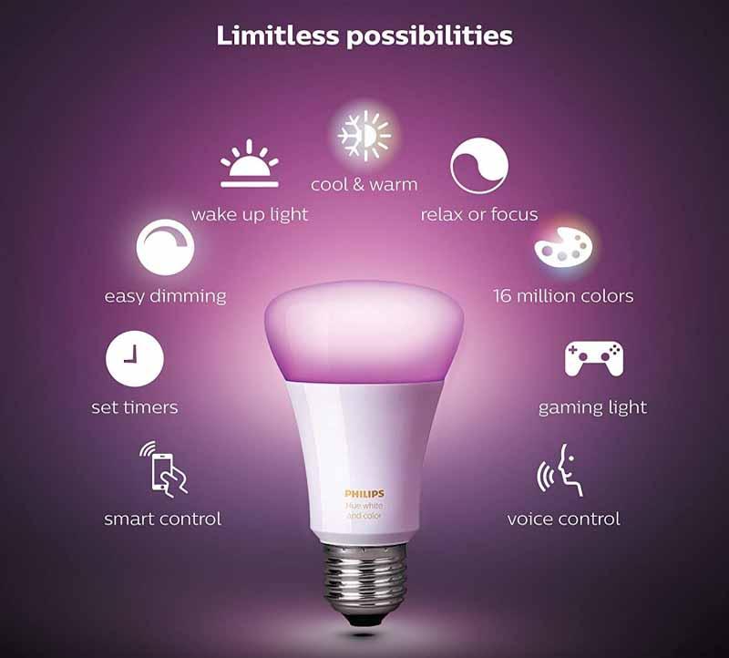 đèn led thông minh philips