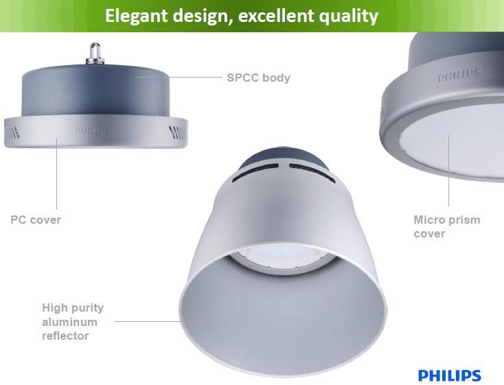 Khi sử dụng đèn nhà xưởng led mang lại những lợi ích về mặt chiếu sáng như
