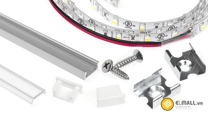 Dụng cụ lắp đặt đèn led thanh nhôm định hình led