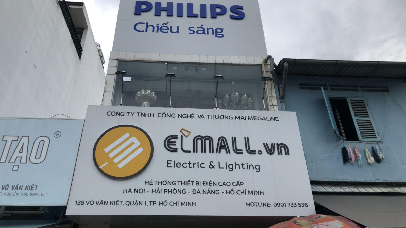 Cửa hàng đèn led tại Hồ chí Minh