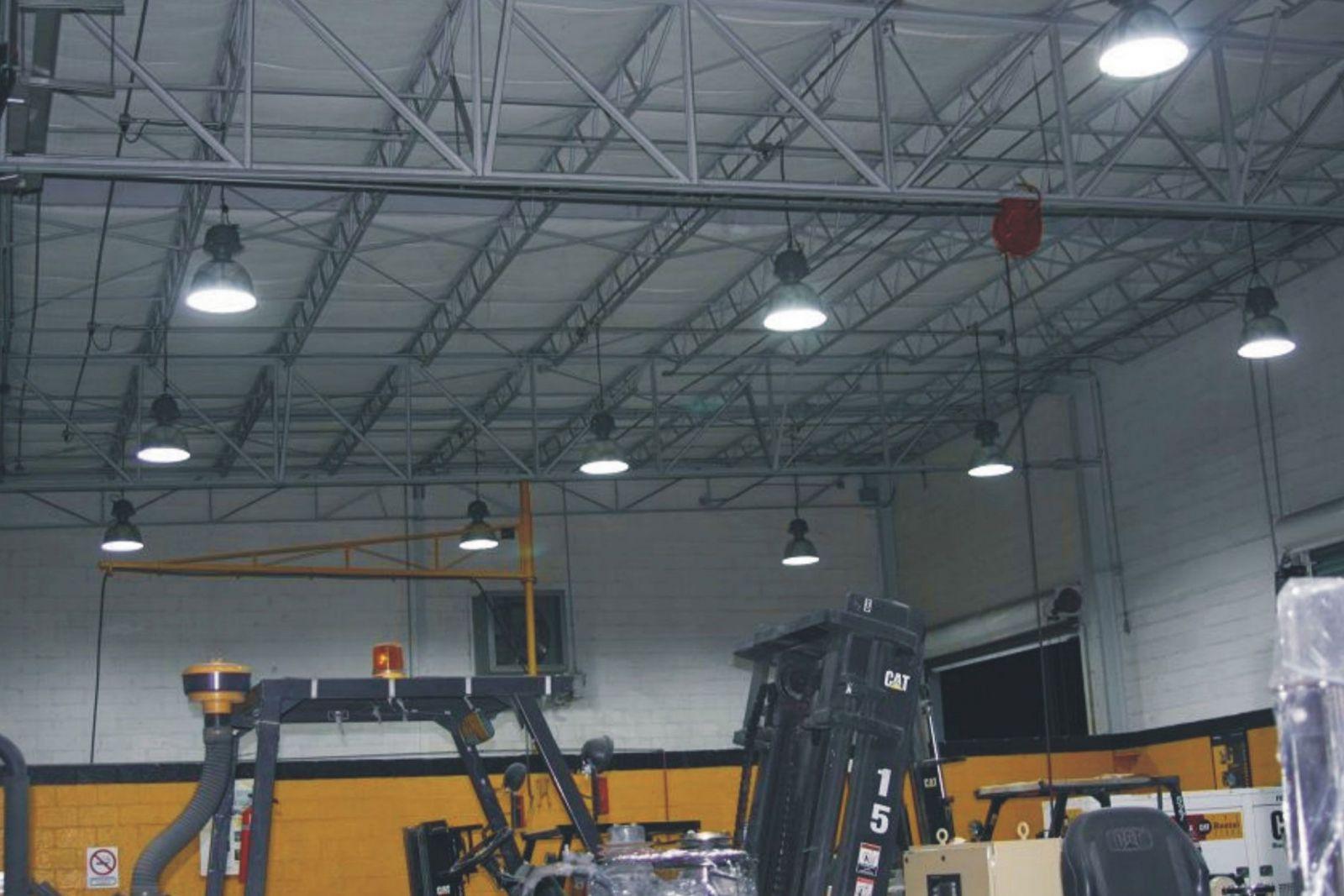 Lắp đặt đèn led nhà xưởng đúng cách