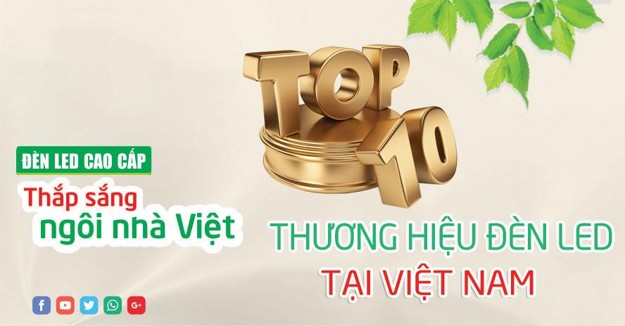 Đèn led Việt Nam không phải chịu thuế