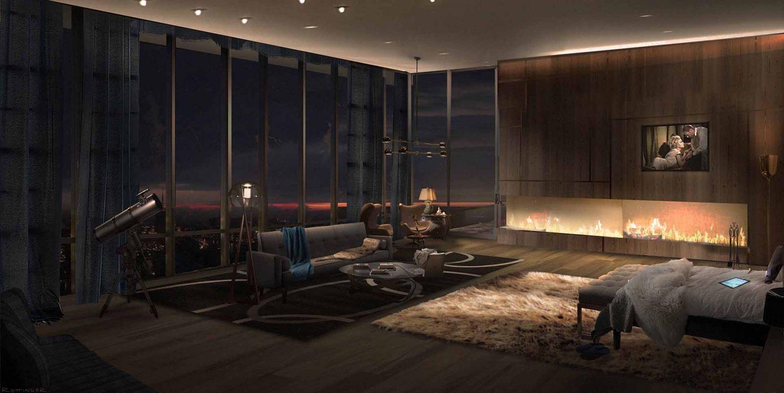 Vai trò quan trọng của đèn âm trần với từng loại phòng