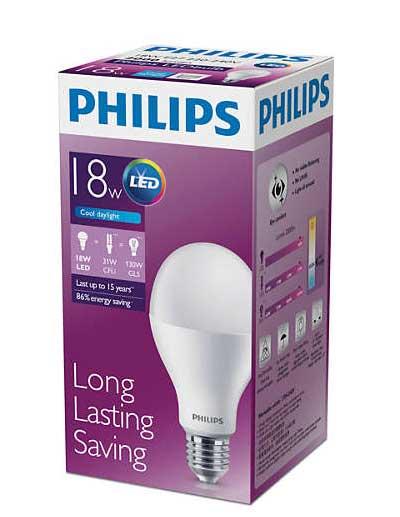 Bóng đèn LED BULB 18w philips