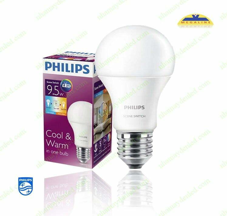 Đèn bulb 6-60W Philips là giải pháp chiếu sáng thông minh trong gia đình nhà bạn