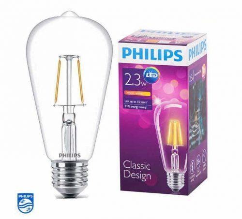 Bóng đèn LED FILA 2.3-25W E27 ST64