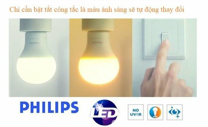 Đèn led bulb Philips
