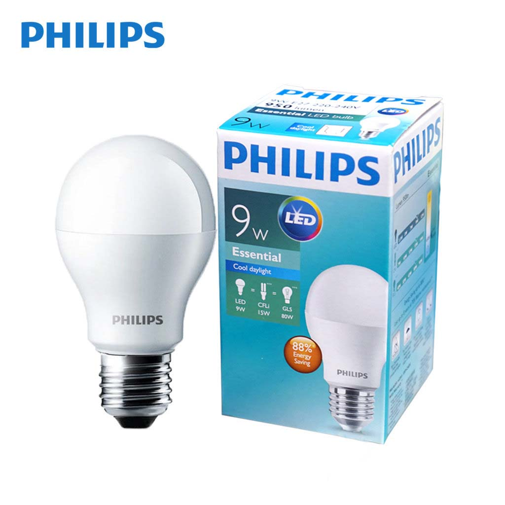 Đèn LED bulb 9W Essential Philips