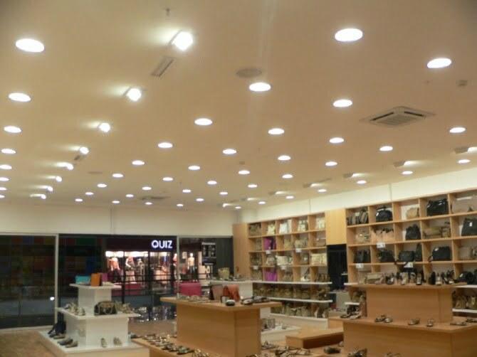 Hình ảnh thực tế khi sử dụng đèn led Philips