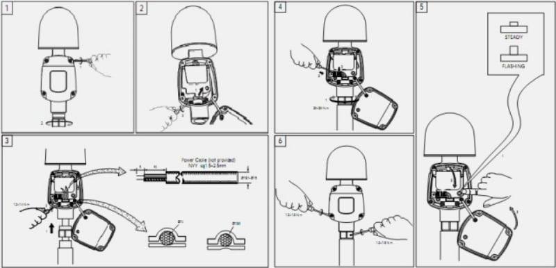 Cách lắp đặt đèn báo không Philips