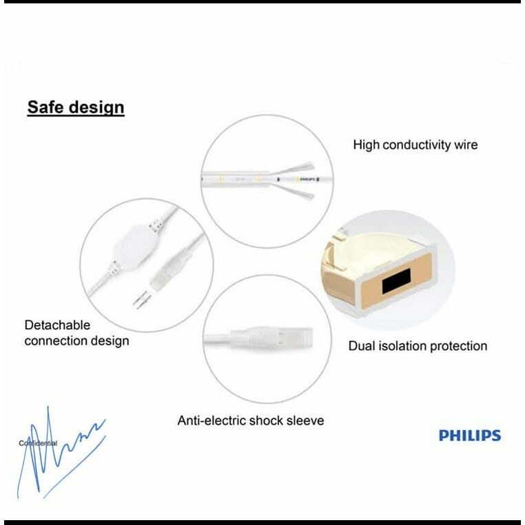 Giải pháp tiết kiệm điện khi sử dụng đèn led dây 31161 Philips
