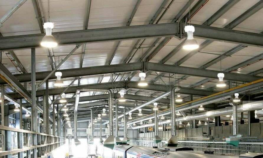Đèn led nhà xưởng 80W