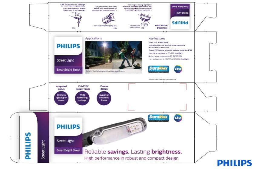 Cấu tạo đèn đường philips