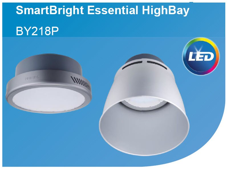 den highbay led philips smartbright by218p