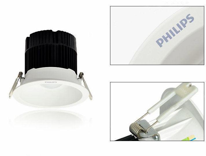 cấu tạo đèn led âm trần DN051B Philips