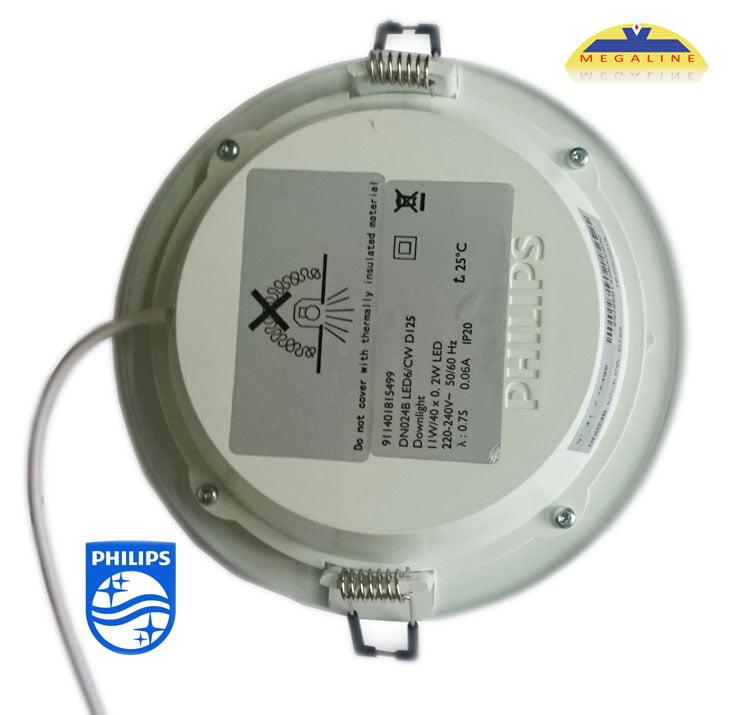 Đèn Downlight Led Philips siêu mỏng DN024B