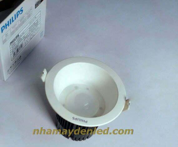 Đèn led âm trần 12W DN051B Philips mang tính ứng dụng cao