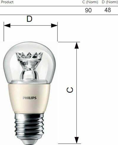 den led bulb master dt 9 60w e27 a60