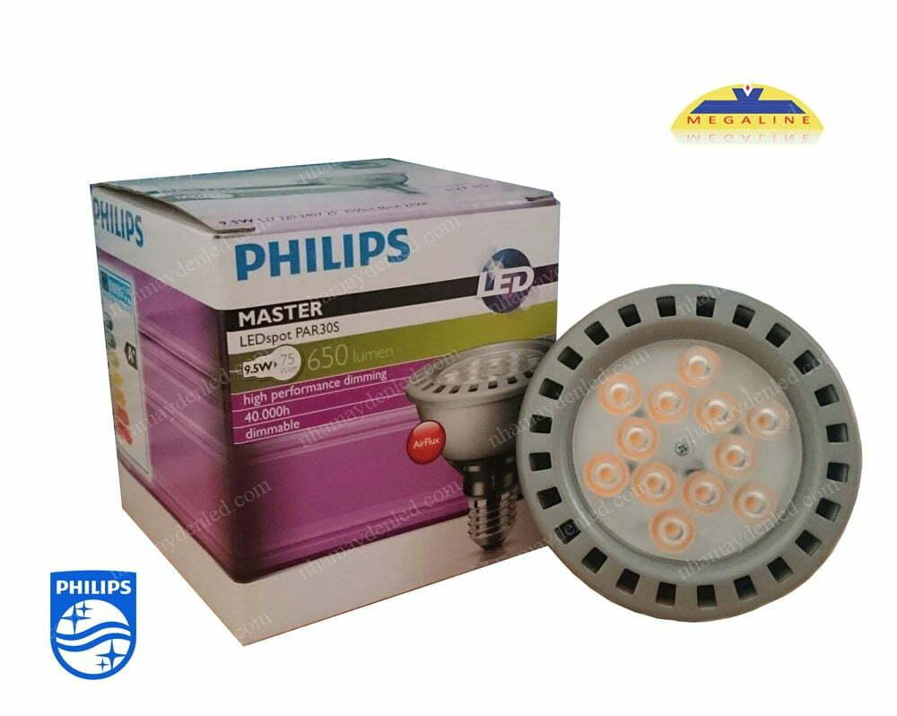 đèn chiếu điểm Master LEDspot D 9.5-75W 827 PAR30S 25D Philips