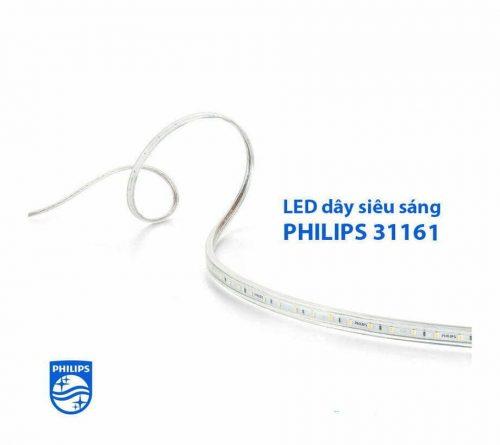 Đèn led dây 31161 220V Philips bọc silicon