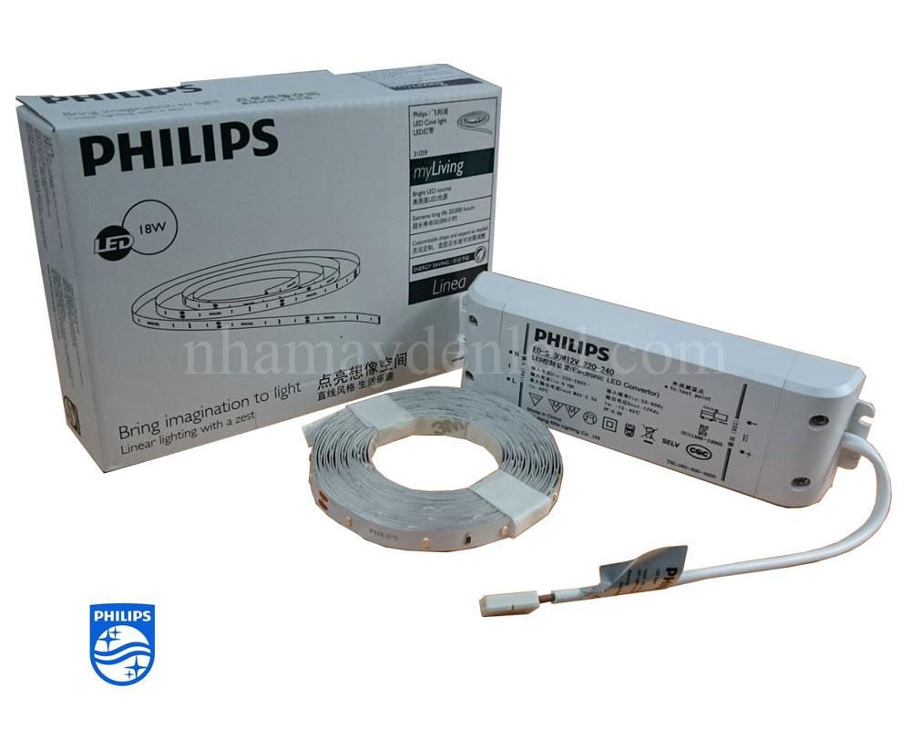 Thông số kỹ thuật đèn led dây 31059 Philips