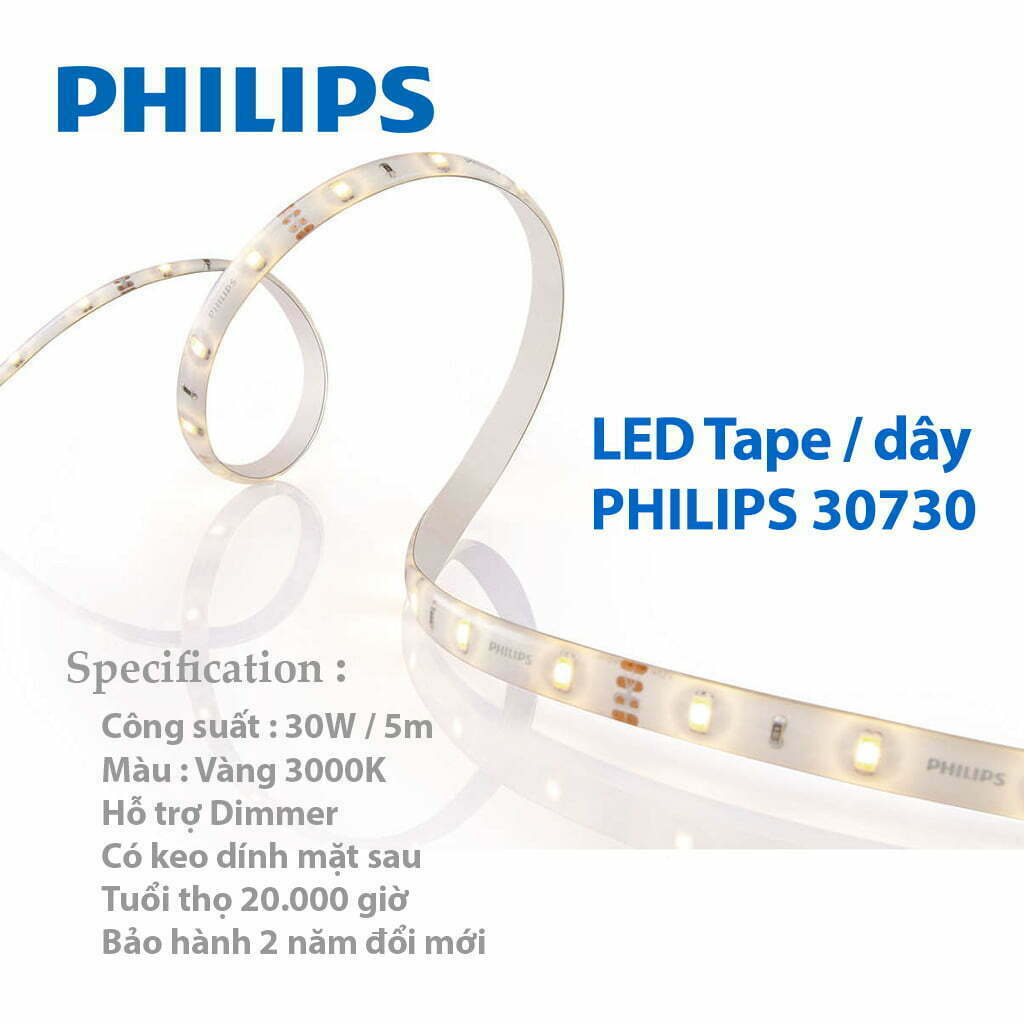 đèn led dây philips