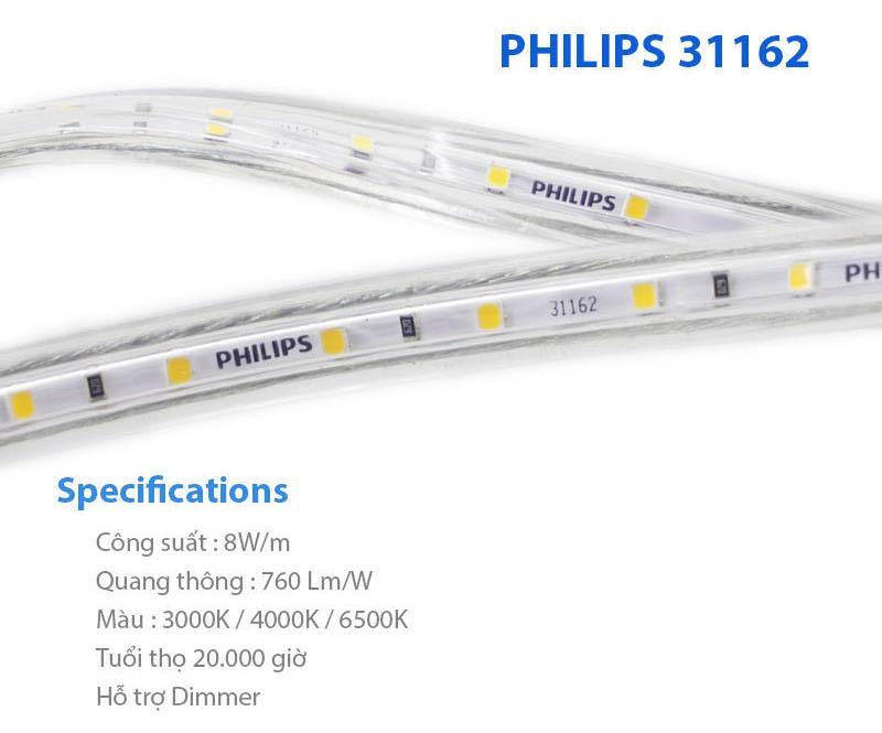 Đèn led dây 31162 Philips