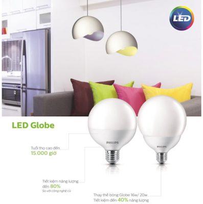 Đèn LED Globe 10 - 85W G120