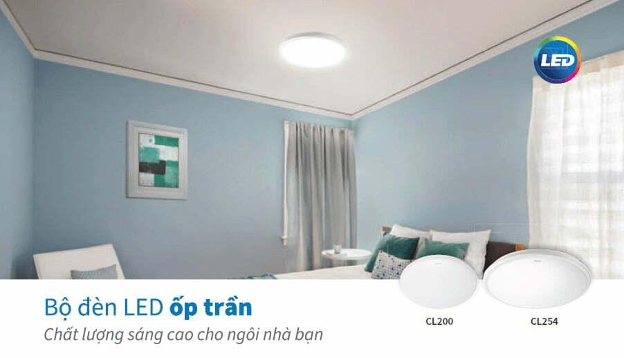 Hình ảnh thực tế của đèn led ốp trần