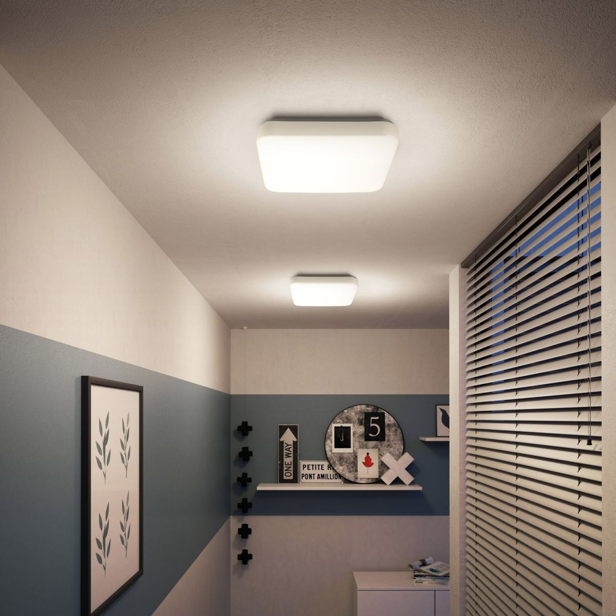 Đèn ốp trần vuông Philips
