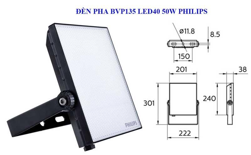 Tại sao nên sử dụng của đèn led pha 50W BVP135 Philips