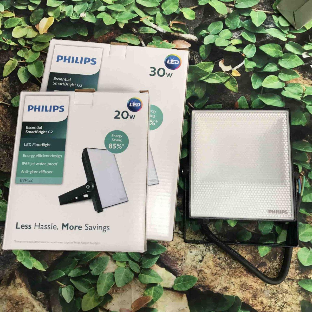 Ảnh chụp đèn led pha BVP132 Philips 20W