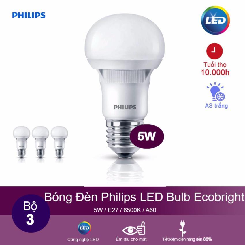 Đèn Ecobright Led bulb 5-60W E27 A60