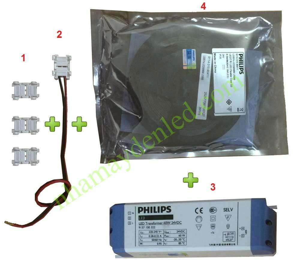 thiết bị phụ kiện đèn led dây ls151s philips